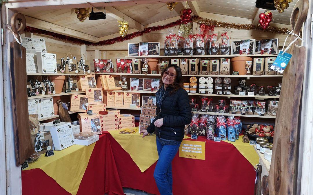 Au marché de Noël de Sarlat, on se régale !