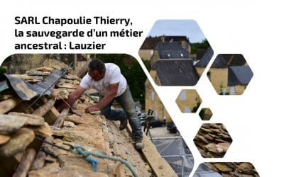 SARL Chapoulie Thierry, la sauvegarde d'un métier ancestral : Lauzier