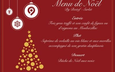 Le menu de Noël par Best of Sarlat