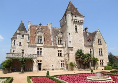 Le Château et jardins des Milandes