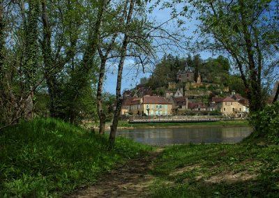 Limeuil et la Dordogne