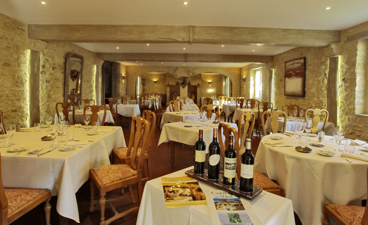 Laborderie restaurant sarlat vin