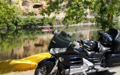 Visiter la Dordogne à moto