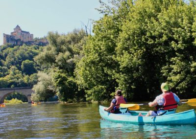 Canoë en Dordogne