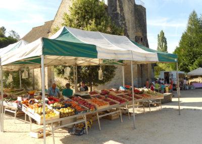 Marché de sainte-Nathalène