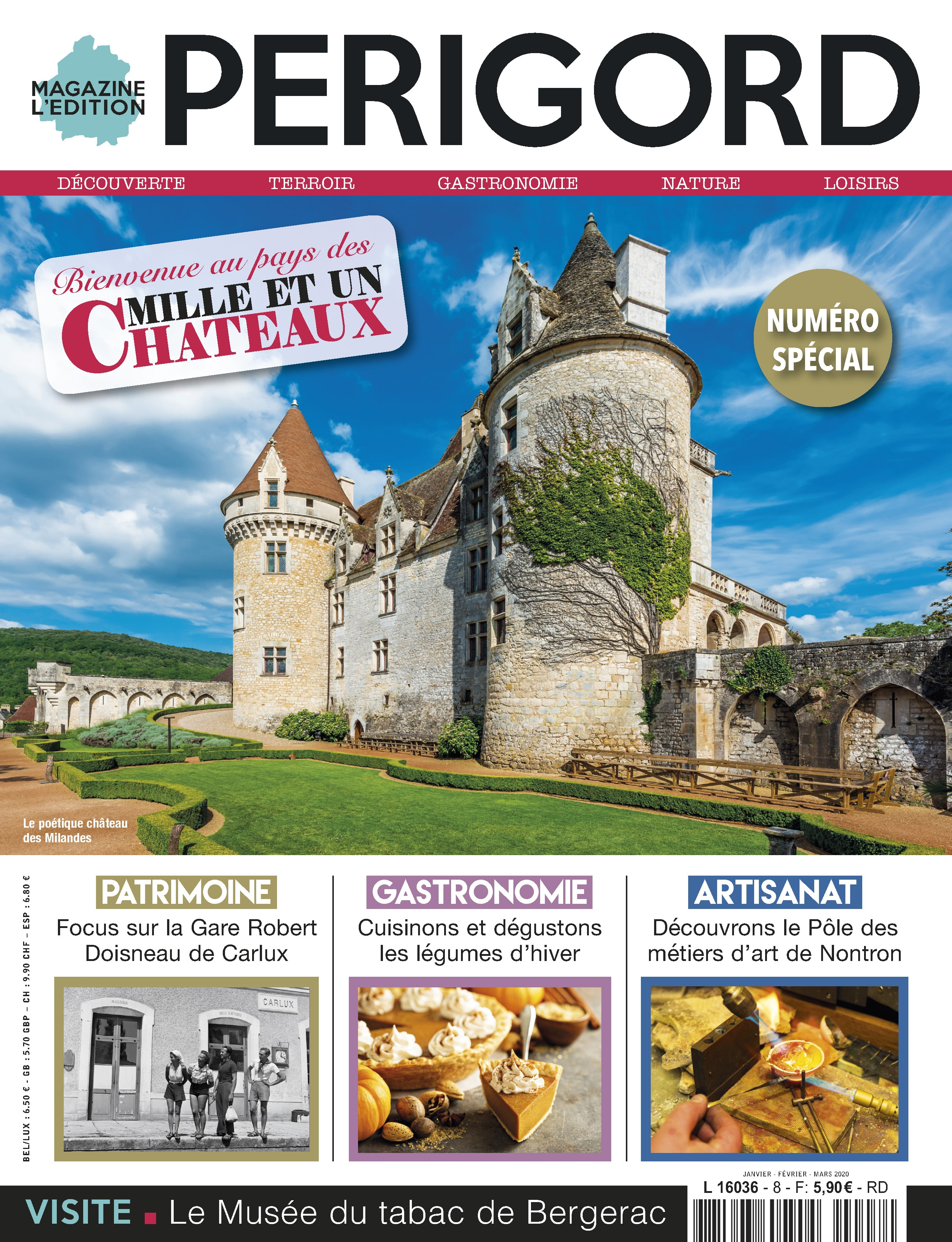 L'Edition Périgord : le magazine des amoureux du Périgord