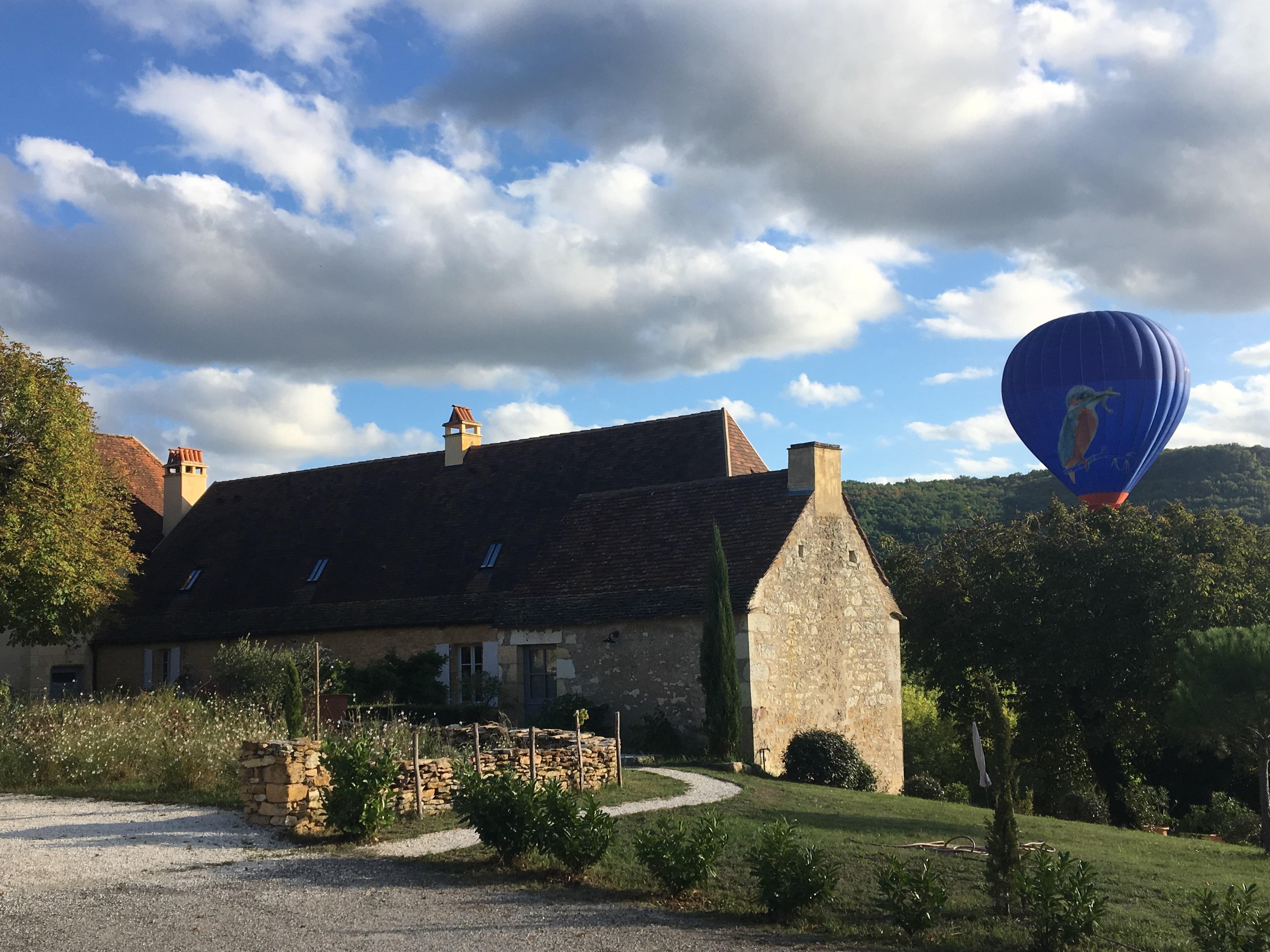 Les Hauts de Saint Vincent : montgolfière