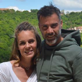 Jessica et Guillaume les Crouquets
